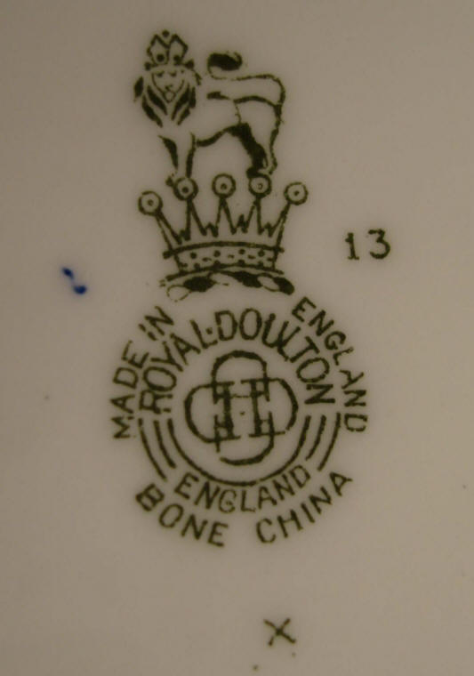Royal doulton identifying marks dating